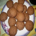 Творожное печенье, шоколадное