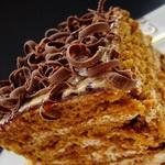 Торт «Рыжик» на заварном тесте
