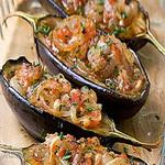 Греческий соус из баклажанов