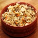 Каша пшеничная с морковью