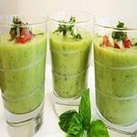Гаспачо из зелёных помидоров