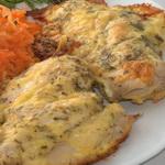 Цыплята в соусе из сыра