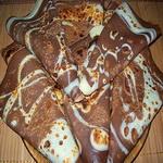 Шоколадно – молочные блины