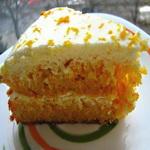 Морковный торт с кремом из сметаны