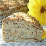 Блинный торт с маком и заварным кремом