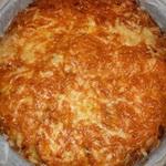 Пирог из кабачков с яично – молочным соусом