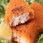 Красная рыба в кляре