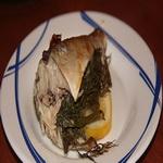 Скумбрия с укропом и яйцами