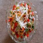 Дайкон с морковью, по-корейски