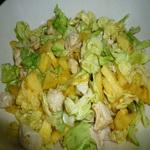 Салат из кольраби с кайенским перцем