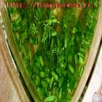 Петров пост. Зелёный суп с орехами