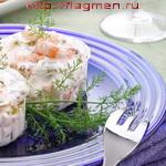 Креветки под сливочным соусом