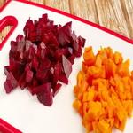 Свеклу и морковь для салатов
