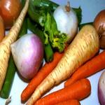 Сырые корнеплоды, используемые в салатах