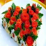 Украшать салаты