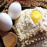 Желтки яиц в тесте