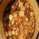 Очищенные грибы