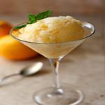 Мороженое из лимонного сока