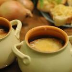 Суп чесночный в горшочке