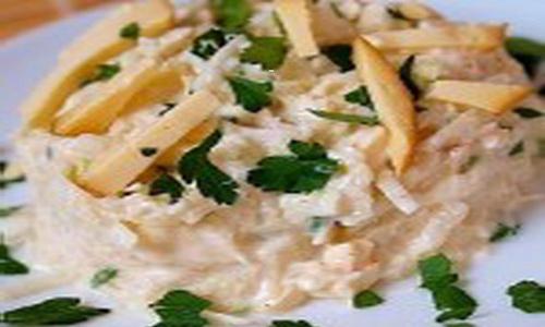 Салат из белокочанной капусты с овощами