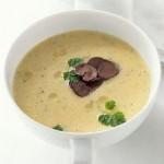 Протертый картофельный суп со сливками