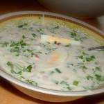 Болгарский суп на кефире