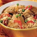 Курица с рисом по-испански