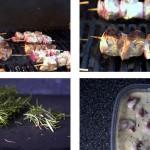 Шашлыки из баранины под соусом