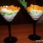 Салат из грейпфрута с тунцом