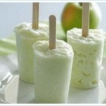 Яблочный сорбет с йогуртом