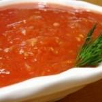 Сладкая томатная заправка