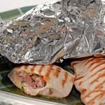 Шницель – гриль с сыром чеддер