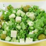 Греческий салат «Зелёный»