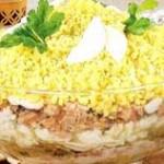 Салат «Мимоза» классический