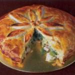 Слоёный пирог с индейкой