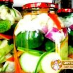 Салат – заготовка из маринованных овощей «Огород»