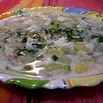 Суп – пюре из капусты с брынзой