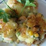Котлеты из картофеля с креветками