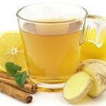 Имбирный настой с лимоном