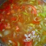 Суп с помидорами и сельдереем