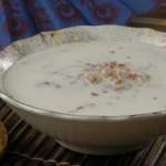 Молочный суп с перловой крупой