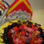 Винегрет с чёрными маслинами