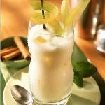 Коктейль молочно — лимонный