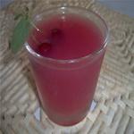 Кисель из сыворотки с ягодным соком