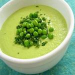 Суп – пюре из зелёного горошка