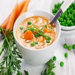 Суп – пюре из овощей и молока
