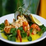 Заправка к салатам с морепродуктами