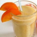 Пунш с холодным молоком и апельсиновым соком