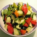 Сицилийский овощной салат с кольраби