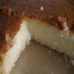 Сливочный пирог с рисовой мукой